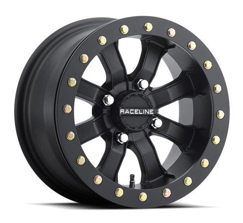 Raceline Raceline -  Mamba Blackout Beadlock  15x7 4/137 +0mm