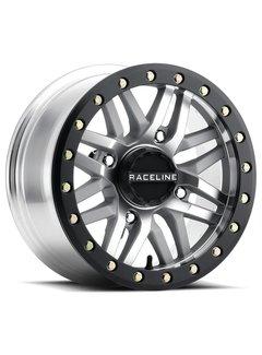Raceline Raceline - Ryno Beadlock - Machined  14x7 4/137 5+2 +10mm