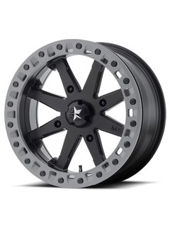 MSA M31 Beadlock Satin Black  14x7 4/137 +0mm