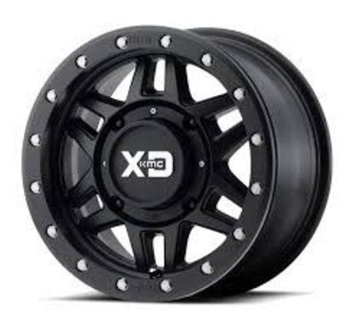 KMC KMC - XS228 Machete Beadlock Satin Black  15x7 4/137 +10mm