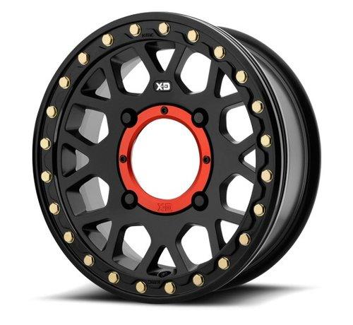 KMC KMC - XS235 Granade Beadlock - Satin Black  15x6 4/137 +38mm