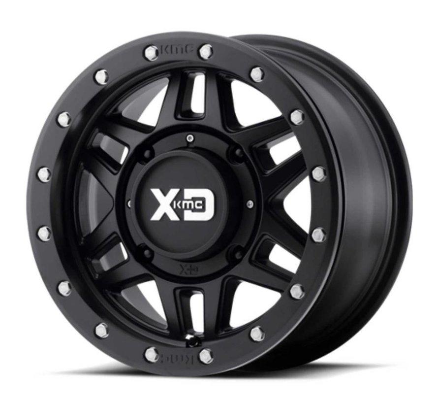 KMC - XS228 Machete Beadlock Satin Black  14x7 4/137 +10mm