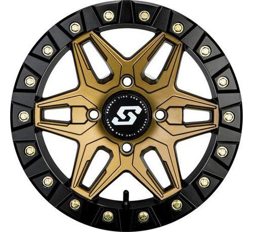 Sedona Sedona - Split 6 Beadlock - Bronze 14x7 4/156 5+2