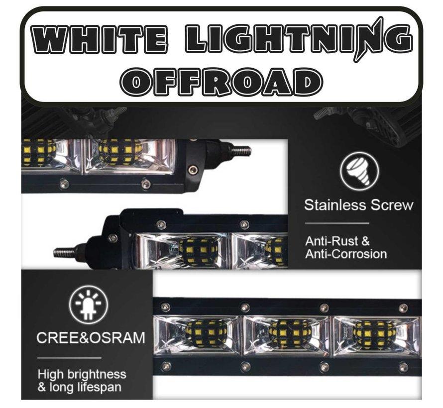 "WLO - 10"" Single Row SCENE LED Light Bar"