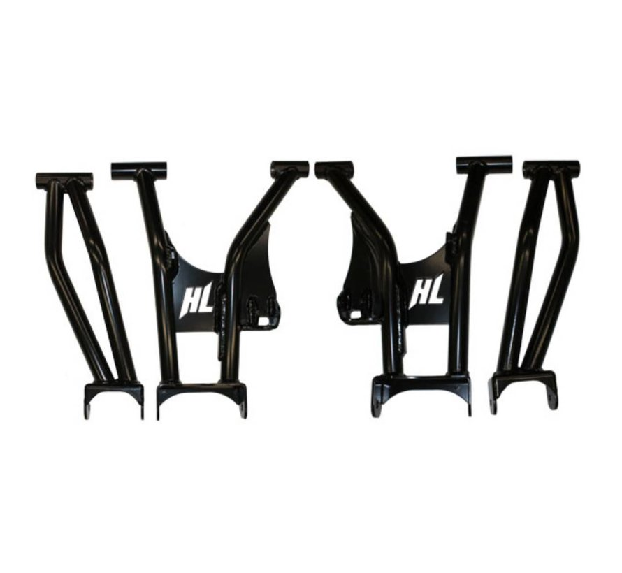 High Lifter - Rear Raked Upper and Lower Control Arm Set Polaris General 1000
