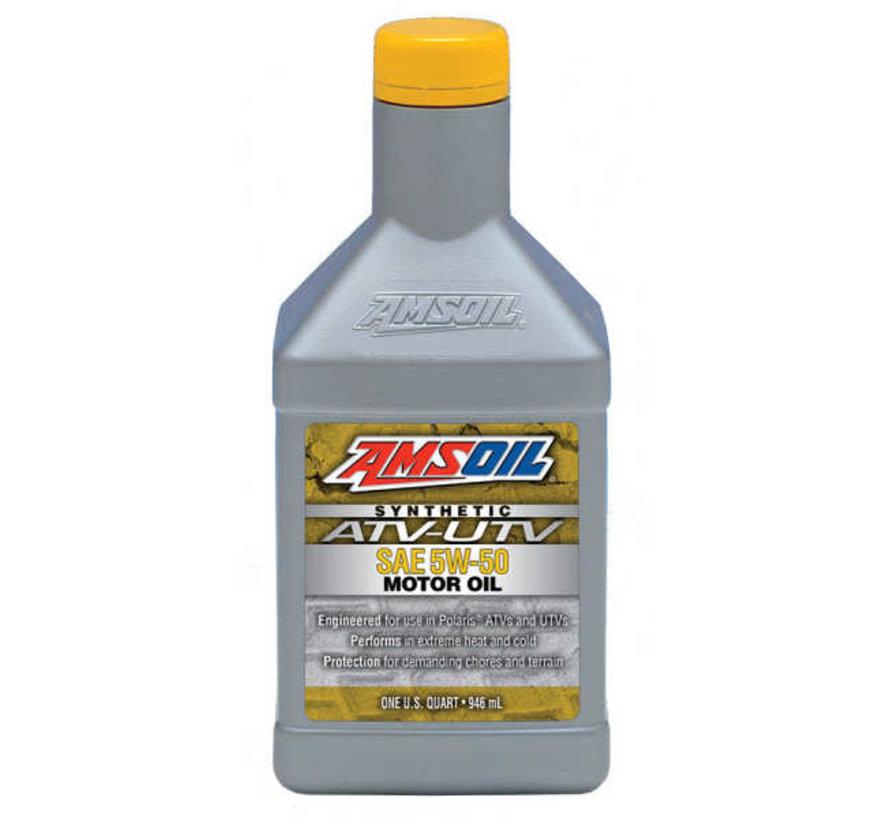 - Synthetic 5W-50 Motor Oil (QT)