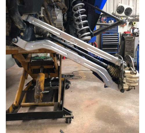 L&W Fab L&W Fab - Polaris Turbo S - High Clearance Radius Rods (RAW)