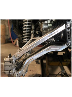 L&W Fab L&W Fab - Honda Talon Radius Rods (RAW)