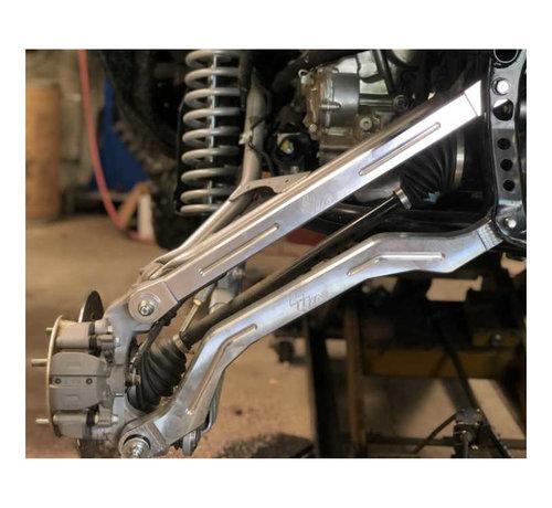 L&W Fab L&W Fab - Honda Talon Radius Rods (R Model) - Full Kit - RAW