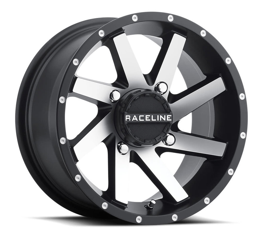 Raceline - Twist 14X7 4X156 4+3 (+5mm) Machined