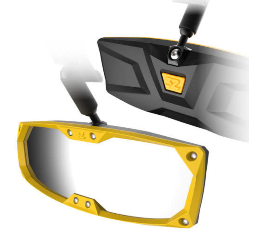 Seizmik - Halo-R Series Bezel & Cap Kit - Yellow