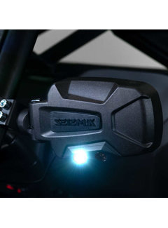 Seizmik Seizmik - Pursuit Night Vision Series Side View Mirror (Pair – Cast Aluminum) – Polaris Pro-Fit and Can-Am Profiledmik -