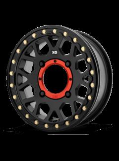 KMC KMC - XS235 Granade Beadlock - Satin Black  15x6 4/156 +38mm