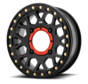 KMC - XS235 Granade Beadlock - Satin Black  15x6 4/156 +38mm