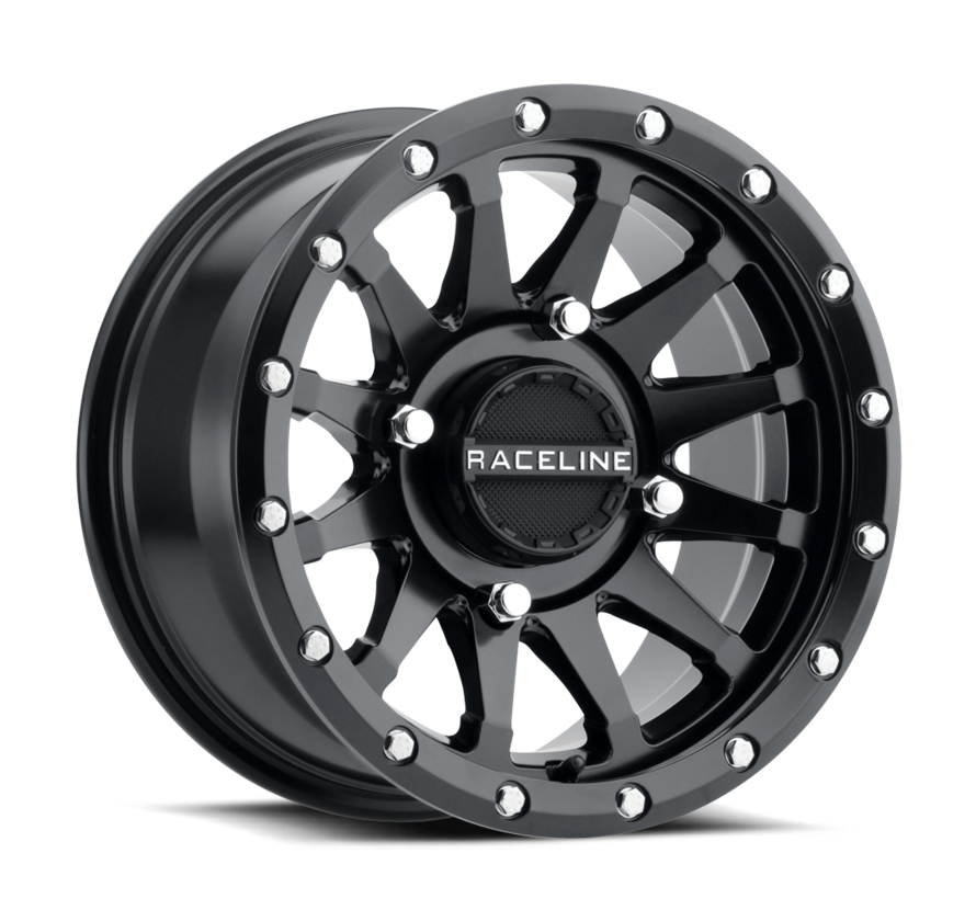 Raceline - Trophy Beadlock 4/156 15X6 5+1 (+40MM) - Black