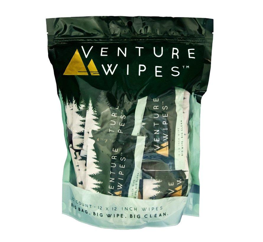 Venture Wipes - 25 Count
