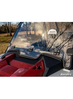SuperATV SATV - RZR XP1000/Turbo 2019 Full VENTED Windshield - Standard Poly