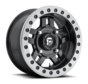 Fuel Off-Road - D917 Anza Beadlock Matte Black w/ Anthracite Ring 14x7 4/136 +13mm