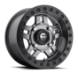 Fuel Off-Road - D918 Anza Beadlock Matte Anthracite w/ Black Ring 14x7 4/156 +13mm