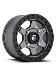 Fuel Off-Road Fuel Off-Road - D915 Gatling Beadlock Anthracite Center w/ Black Ring 15x7 4/156 +55mm