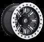 Fuel Off-Road - D910 Hardline Beadlock (Lightweight Ring) Gloss Black & Milled 15x10 4/136 +25mm