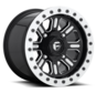 Fuel Off-Road - D910 Hardline Beadlock (Lightweight Ring) Gloss Black & Milled 15x10 4/156 +25mm