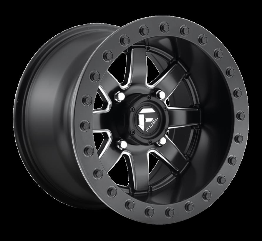 Fuel Off-Road - D928 Maverick Beadlock Black & Milled 14x8 4/156 +0mm