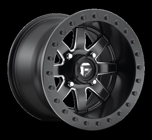 Fuel Off-Road Fuel Off-Road - D928 Maverick Beadlock Black & Milled 14x8 4/137 +0mm