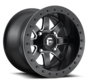 Fuel Off-Road - D928 Maverick Beadlock Black & Milled 14x8 4/137 +0mm