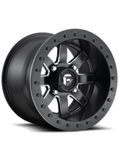 Fuel Off-Road Fuel Off-Road - D928 Maverick Beadlock Black & Milled 14x10 4/156 +0mm