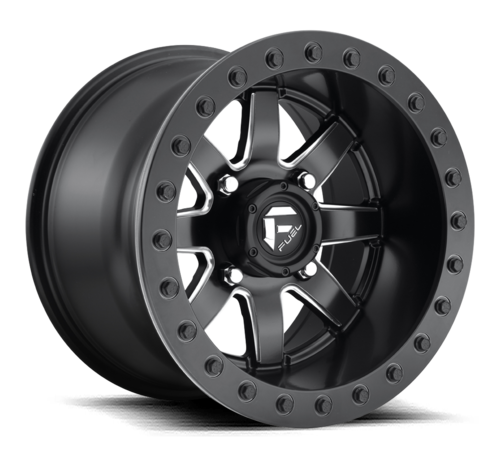 Fuel Off-Road Fuel Off-Road - D928 Maverick Beadlock Black & Milled 14x10 4/137 +0mm
