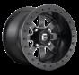 Fuel Off-Road - D928 Maverick Beadlock Black & Milled 14x10 4/137 +0mm