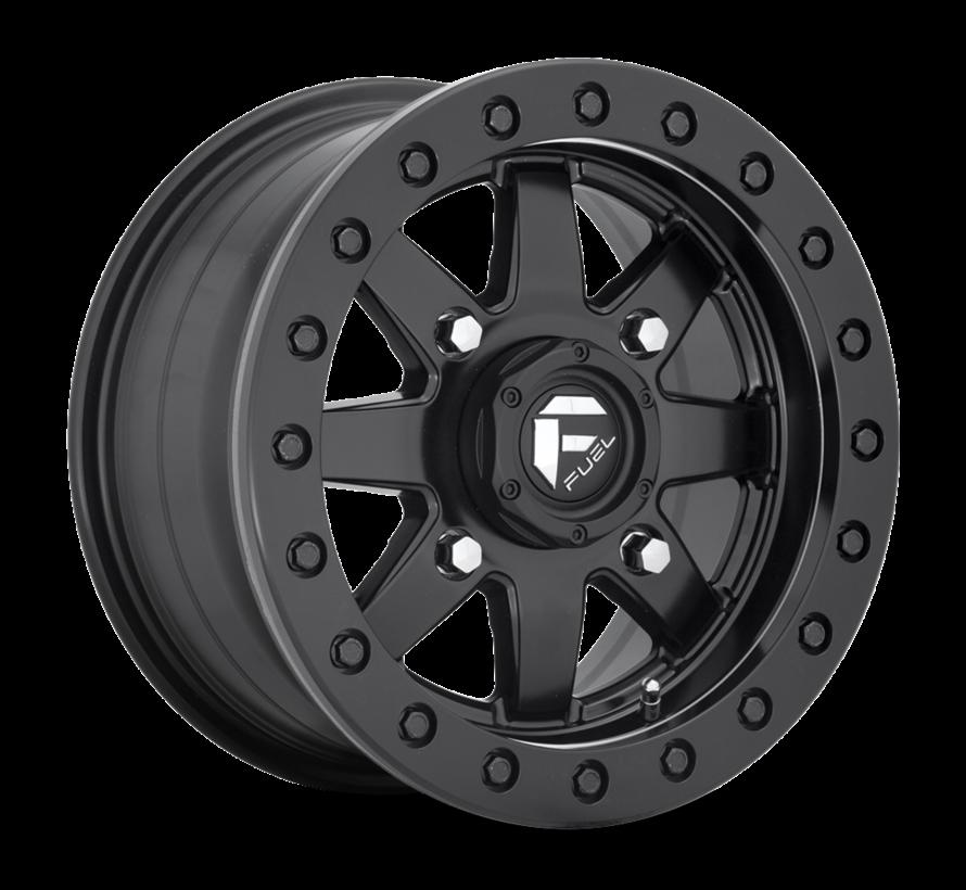 Fuel Off-Road - D936 Maverick Beadlock Black Center w/ Black Beadlock 14x7 4/156 +38mm