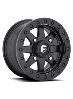 Fuel Off-Road Fuel Off-Road - D936 Maverick Beadlock Black Center w/ Black Beadlock 15x7 4/156 +38mm