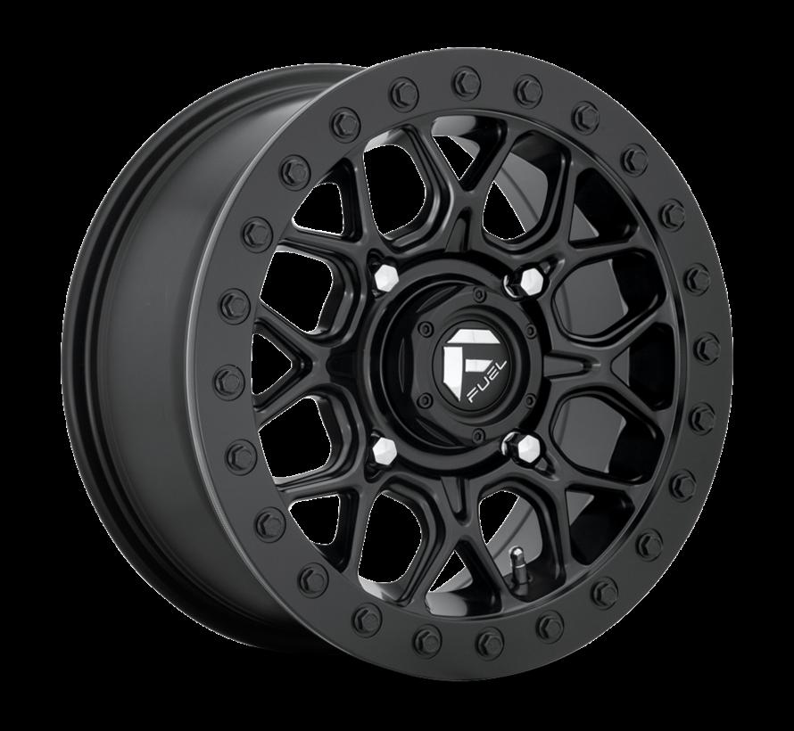 Fuel Off-Road - D916 Tech Beadlock Tech Black Center w/ Black Beadlock 15x7 4/156 +38mm