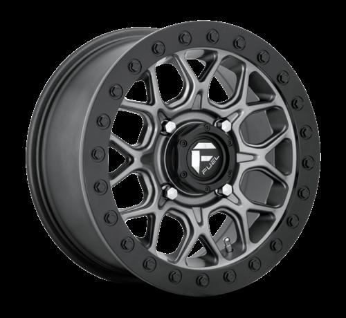 Fuel Off-Road Fuel Off-Road - D919 Tech Beadlock Black Center w/ Black Beadlock 15x10 4/137 +0mm