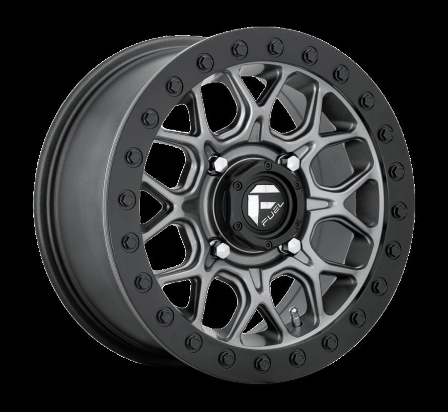 Fuel Off-Road - D919 Tech Beadlock Black Center w/ Black Beadlock 15x7 4/137 +38mm