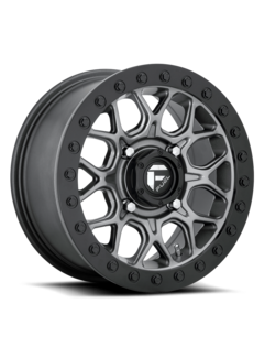 Fuel Off-Road Fuel Off-Road - D919 Tech Beadlock Black Center w/ Black Beadlock 15x7 4/156 +38mm