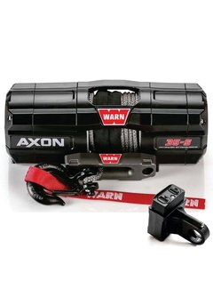 Warn Warn - Axon 3500S - Spydura Synthetic Rope - Includes Heavy Duty Winch Saver