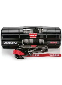 Warn Warn - Axon 4500S - Spydura Synthetic Rope - Includes Heavy Duty Winch Saver