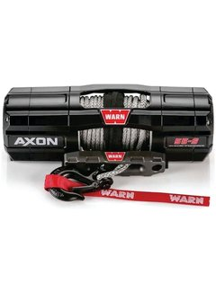 Warn Warn - Axon 5500S - Spydura Synthetic Rope - Includes Heavy Duty Winch Saver