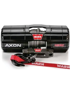 Warn Warn - Axon 4500RC - Spydura Synthetic Rope - Includes Heavy Duty Winch Saver