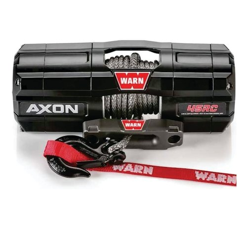 Warn Warn - Axon 4500RC (Short Drum) - Spydura Synthetic Rope - Includes Heavy Duty Winch Saver