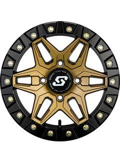 Sedona Sedona - Split 6 - Beadlock Bronze 15x6 4/156 5+1 +40mm