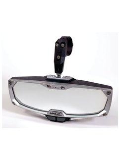 "Seizmik Seizmik - Pro Series Halo-RA Billet Aluminum LIGHTED Rearview Mirror 1.75"""