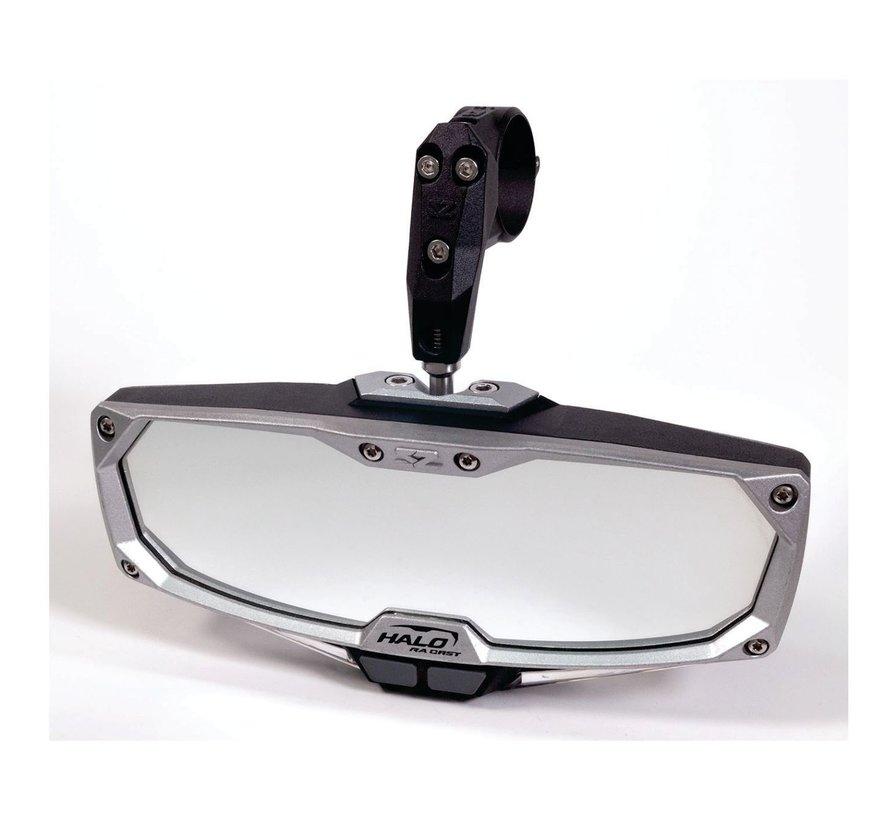 "Seizmik - Pro Series Halo-RA Billet Aluminum LIGHTED Rearview Mirror 1.75"""