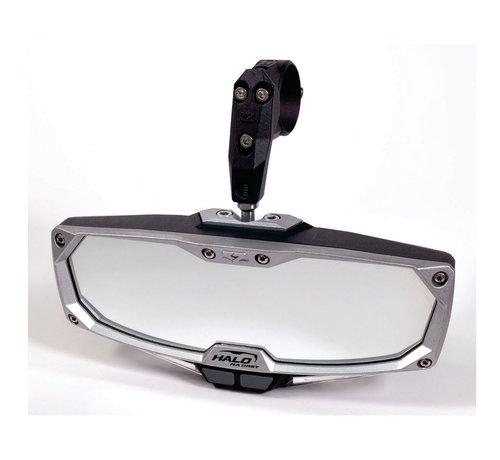 "Seizmik Seizmik - Pro Series Halo-RA Billet Aluminum LIGHTED Rearview Mirror 1.875"" - 2"""