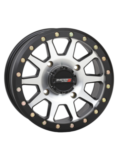 System 3 Off-Road System 3 Off-Road SB-3 Beadlock Wheels Machined/Matte Black 14x7 4/156 5+2(+30mm)