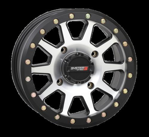 System 3 Off-Road System 3 Off-Road SB-3 Beadlock Wheels Machined/Matte Black 14x7 4/156 5+2(+30mm)