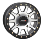 System 3 Off-Road SB-3 Beadlock Wheels Machined/Matte Black 14x7 4/156 5+2(+30mm)